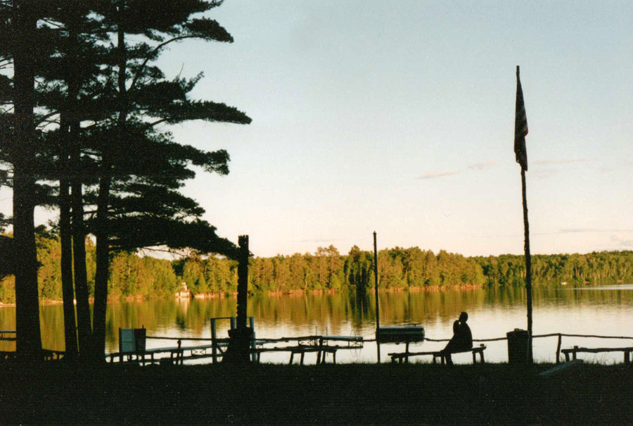 """Lake Owen and camp."""
